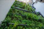dekoratyvinė sienelė, dirbtinė žolė, Fullham pipes